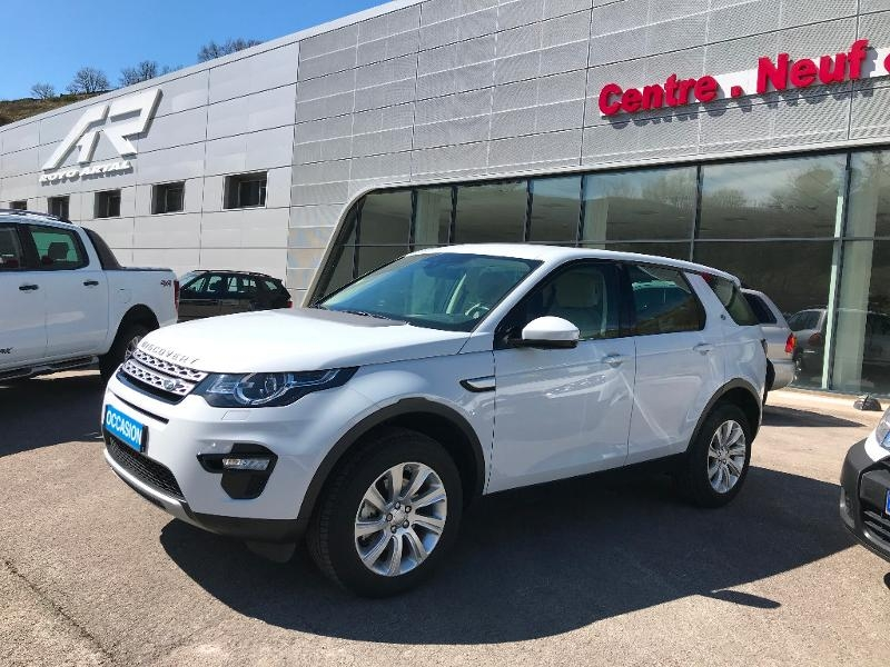 Land-Rover Discovery Sport 2.0 TD4 150ch AWD HSE Mark I Diesel Blanc Occasion à vendre